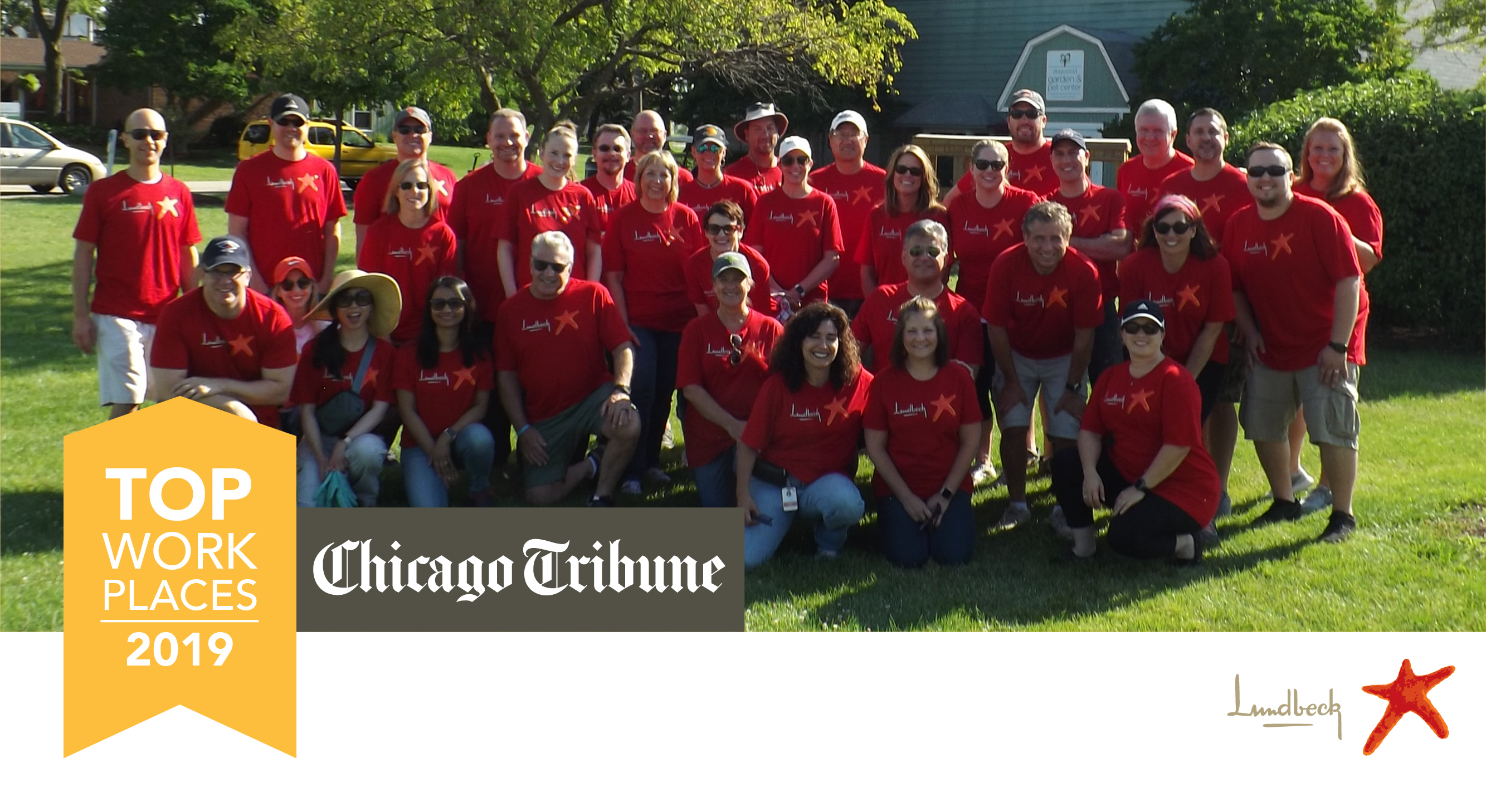 Lundbeck Named a 2019 Chicago Tribune Top Workplace